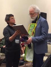 Ken Whiteley receives Utah Phillips Award