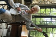 Peggy Seeger with Banjo