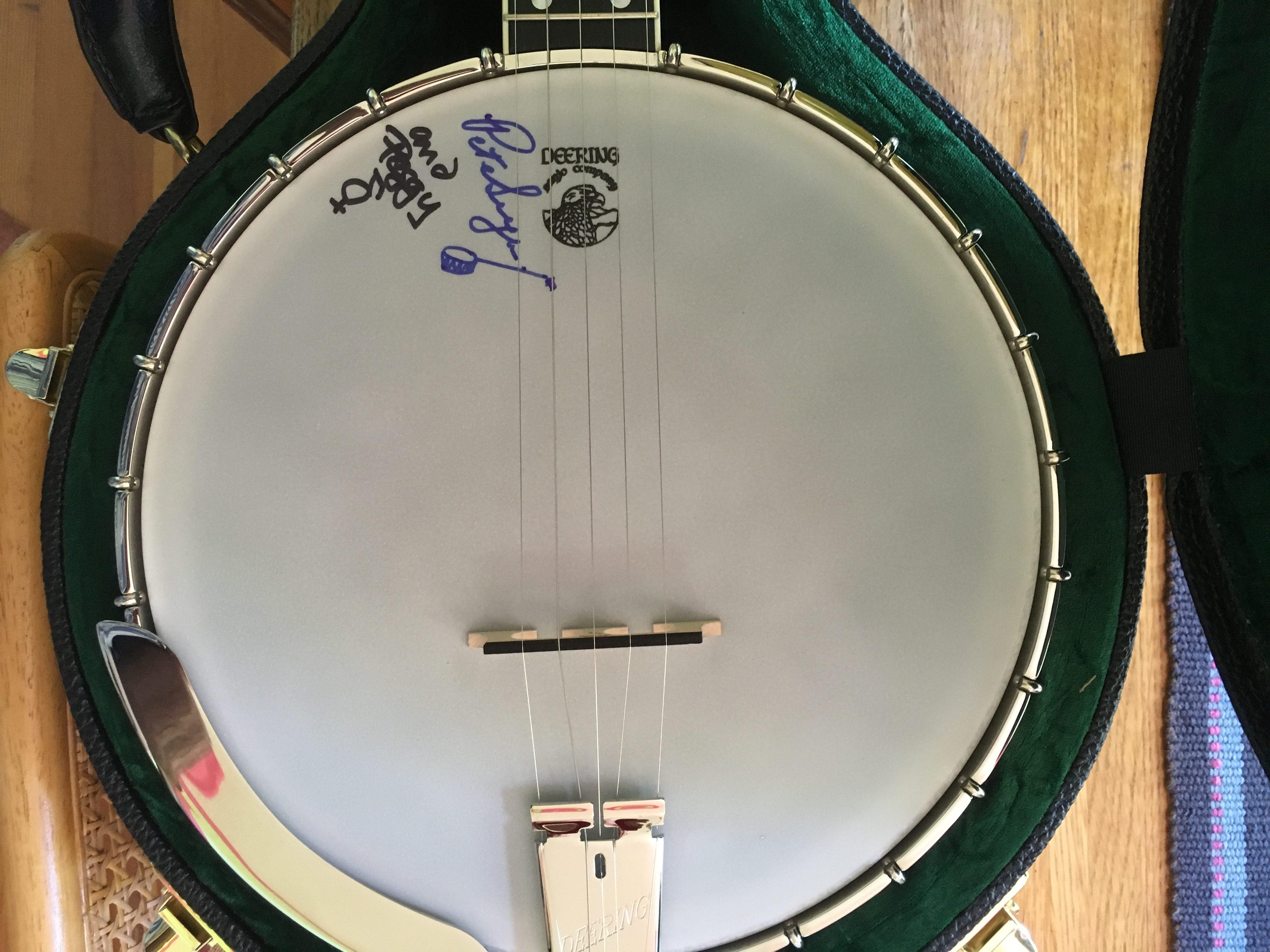 Local 1000 AFM Deering Vega Long Neck Banjo Raffle - Local 1000 AFM